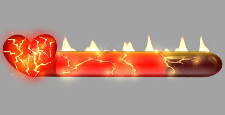 Fire Health Bar 2d Icons Unity Asset Store In 2021 Health Bar Health Fire Animation