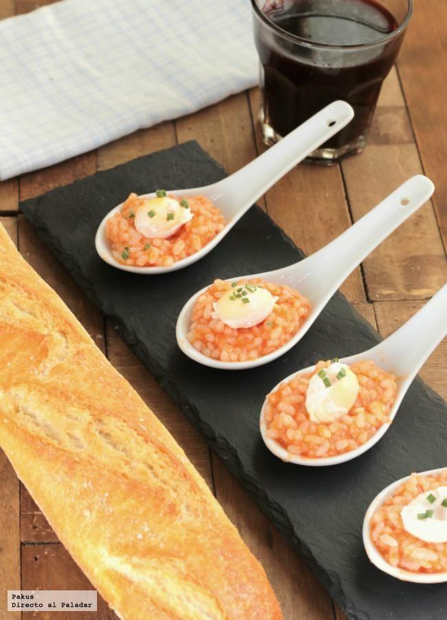 Cucharitas de arroz a la cubana receta de aperitivo - Comodas originales ...
