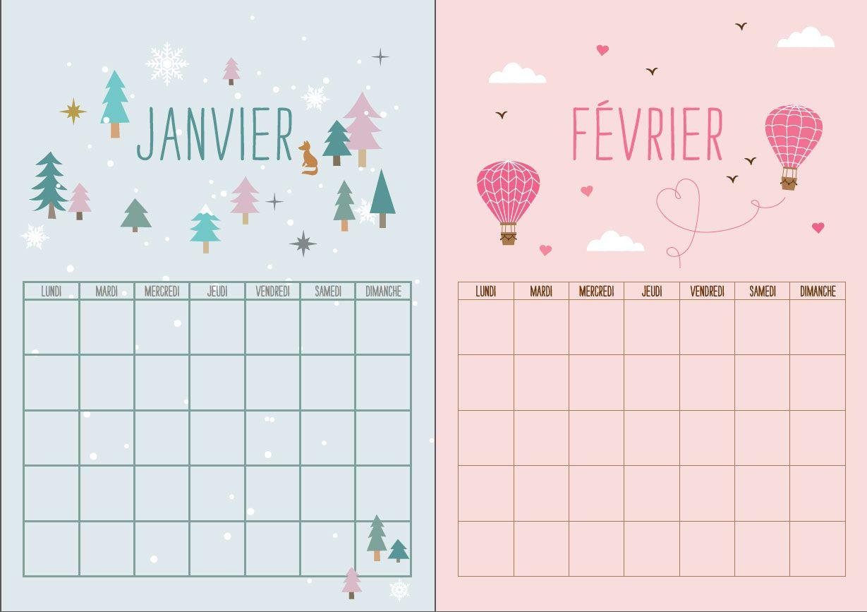 Gratuit notre calendrier perp tuel imprimer calendrier janvier et organisation - Calendrier perpetuel a imprimer ...