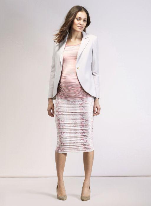 The Everyday Maternity Blazer Chalk Grey Designer Maternity Wear Designer Maternity Clothes Maternity Clothes Uk
