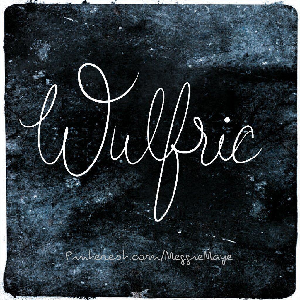 Baby boy's name Wulfric