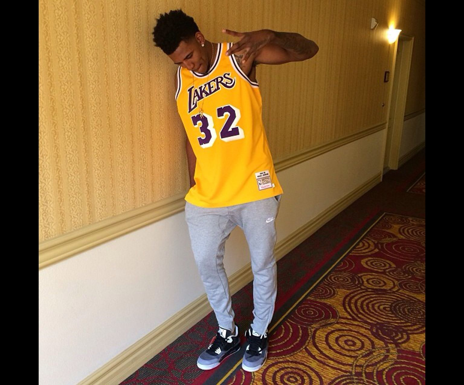 lowest price 867c2 2d8e8 Nick Young aka SwaggyP. WESTSiDE! | Los Angeles Lakers in ...