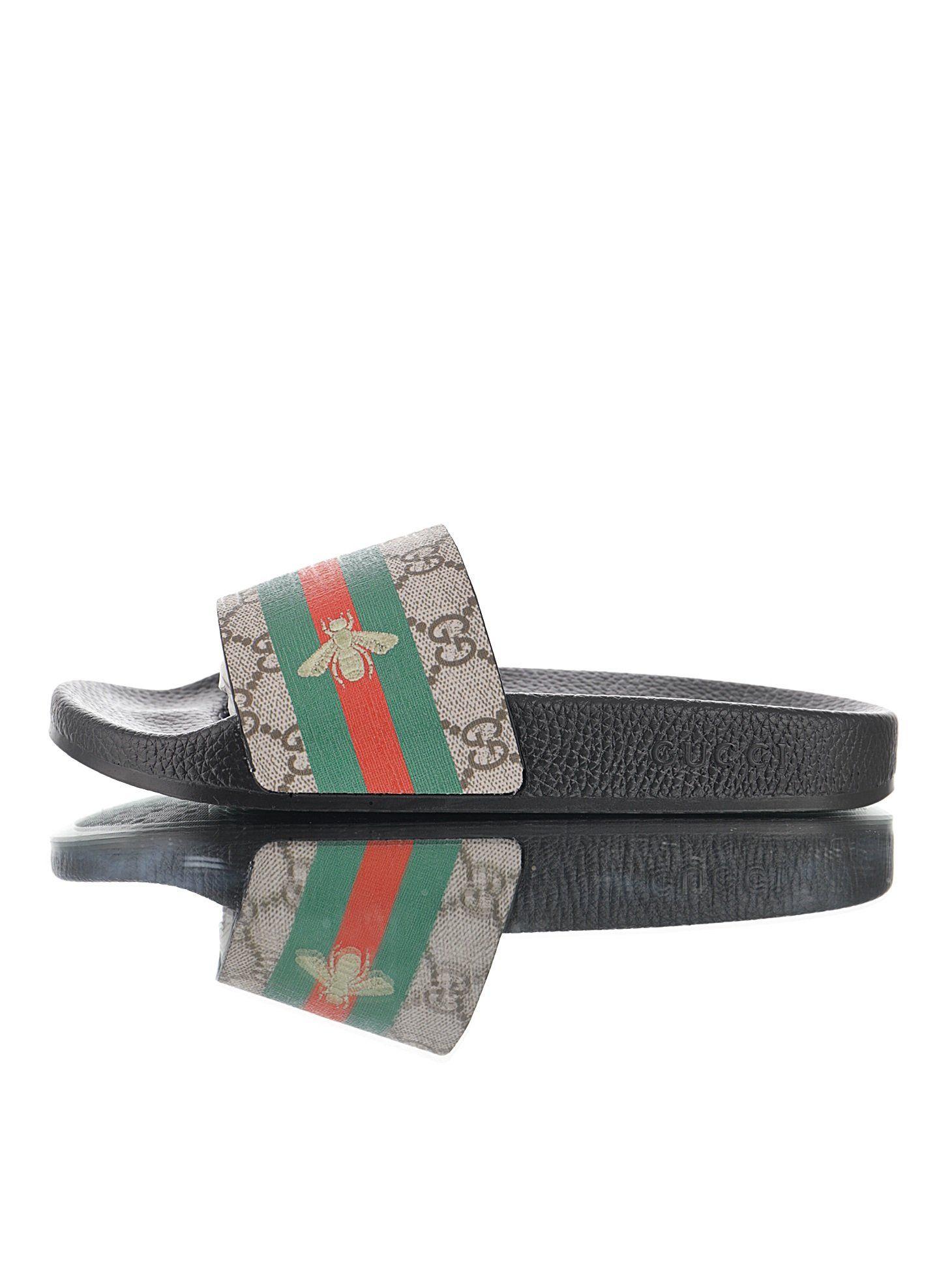 Gucci GG Bee Slide Sandal 3D | Slide