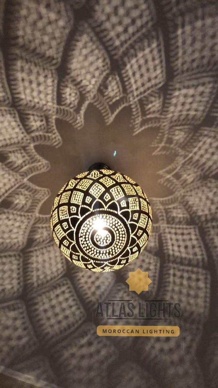 Moroccan Pendant Light  Moroccan Lamp Pendant Lights Brass | Etsy