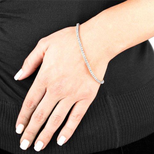 2 Carat Diamond Tennis Bracelet 14k White Gold Diamond Line Bracelet Tennis Bracelet Diamond Tennis Bracelet White Gold Diamonds