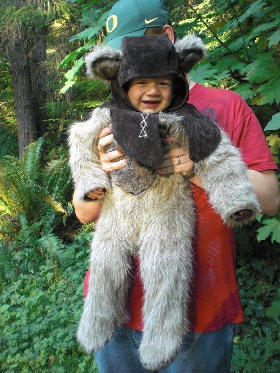 Baby Ewok Costume 18 month Carneval Pinterest Ewok costume - 18 month halloween costume ideas