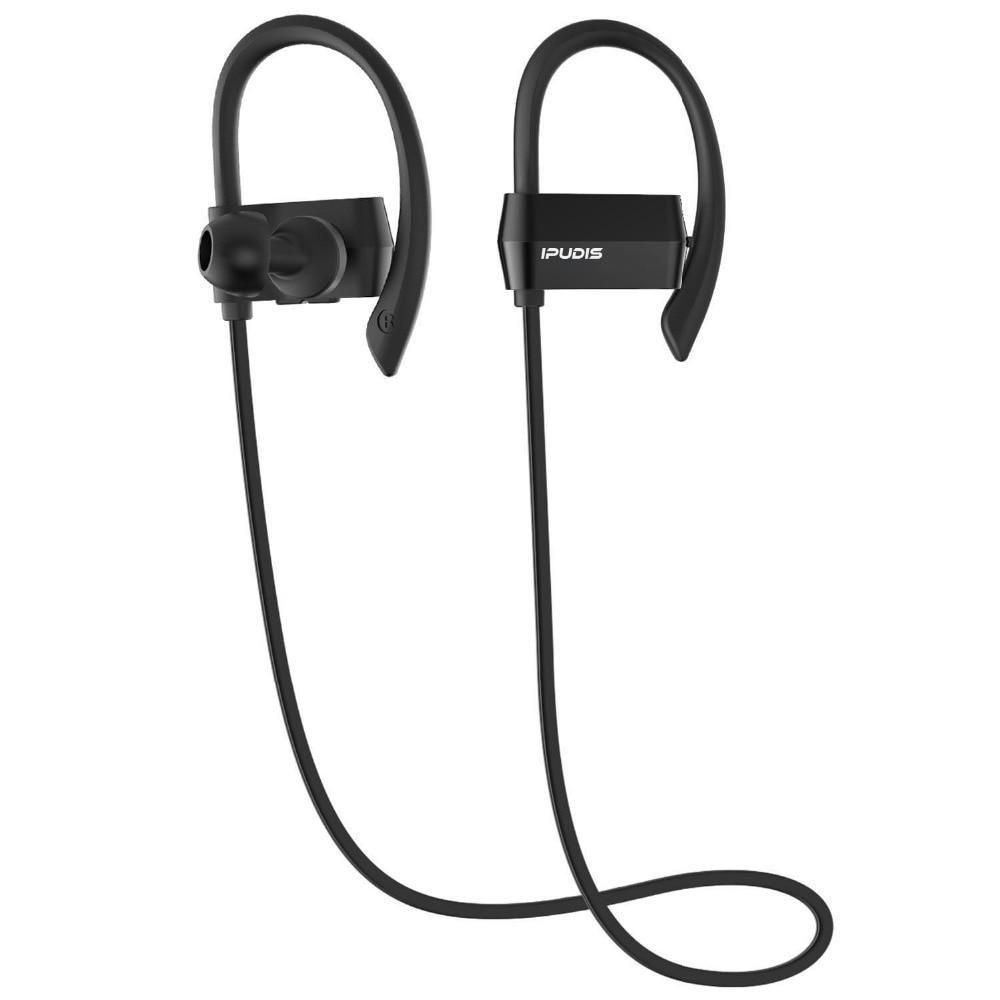 Ipudis Sport Bluetooth Earphone Earhook Wireless Headphone For Workout Nano Coating Waterproof 80mah Noise Cancelling Yester Bluetooth Headphones Wireless Headphones Headphones