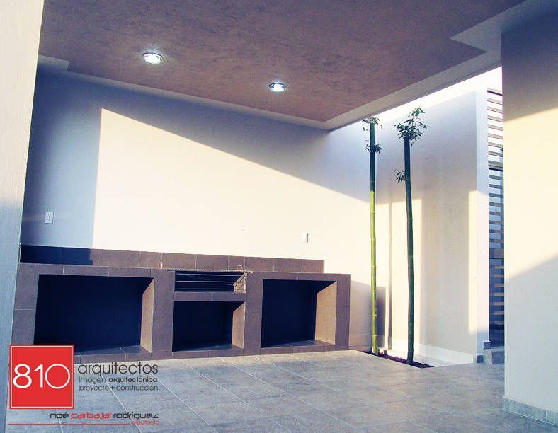 Busca imágenes de diseños de Casas estilo moderno}: Casa Habitación. Amézquita Córdova. Encuentra las mejores fotos para inspirarte y y crear el hogar de tus sueños.