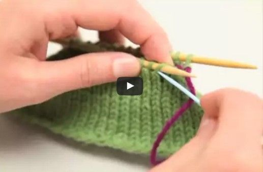 Learn How To Do The Kitchener Stitch | Yarn | Pinterest