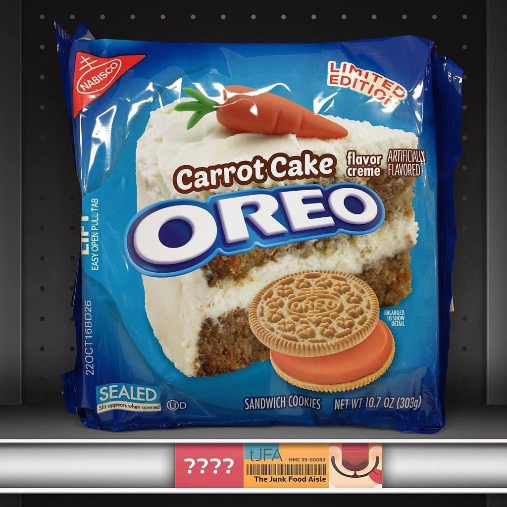 Carrot Cake Oreos I Want These In 2019 Oreo Flavors
