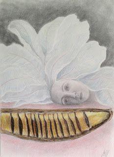http://lateliermariajosehdez.blogspot.com.es/  Exposición Árboles en las manos y ramas en el pelo. María josé Hdez. Jou Cymbidium