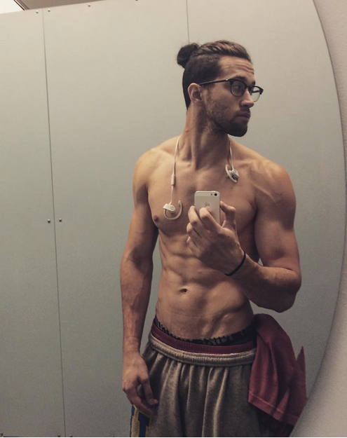 Literally just 20 pictures of guys who are shirtless with ...