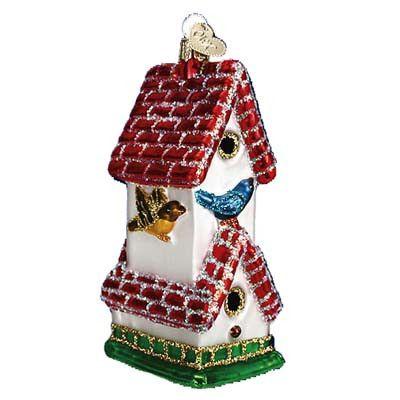 Birdhouse Christmas Ornament 16068 Merck Family\u0027s Old World