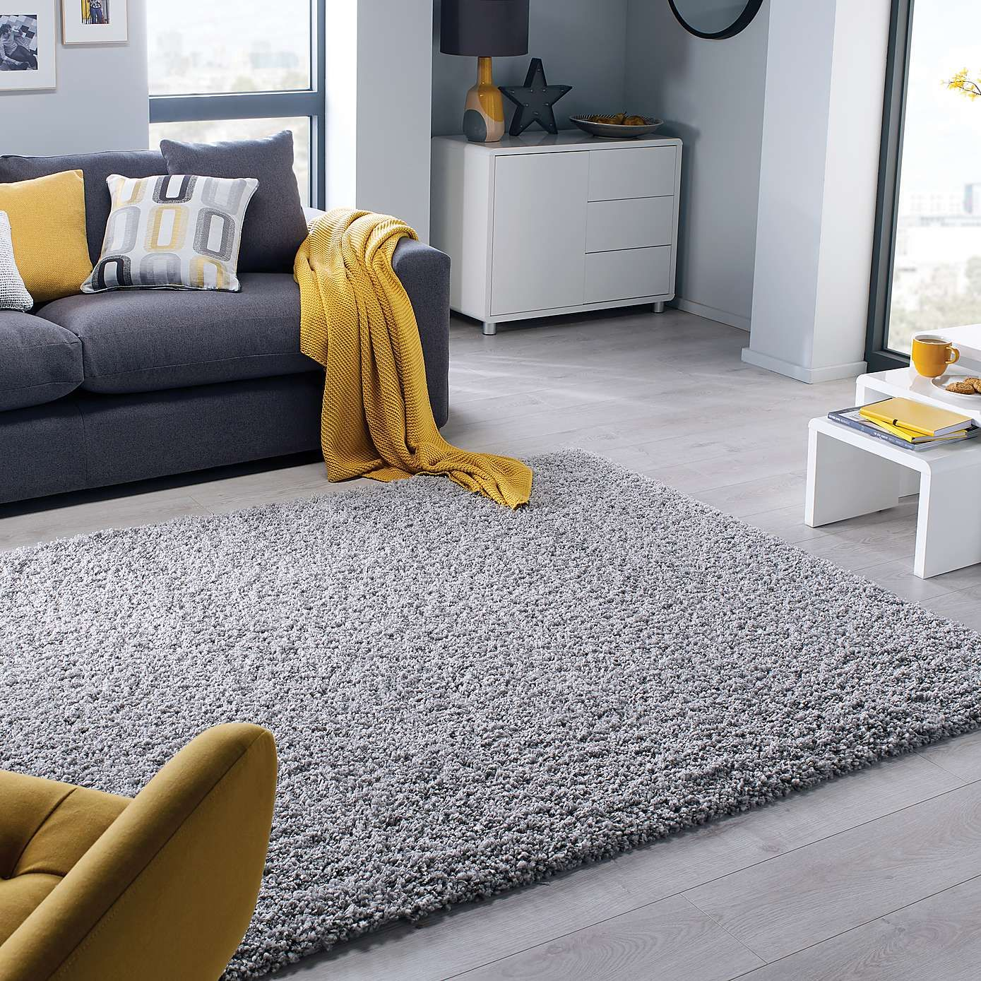 Grey Slumber Rug Rugs Home
