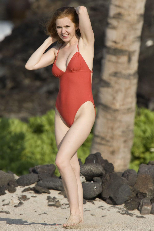 Isla Fisher Isla Fisher Bikini Jennifer Garner Amy Adams Actresses Bikinis