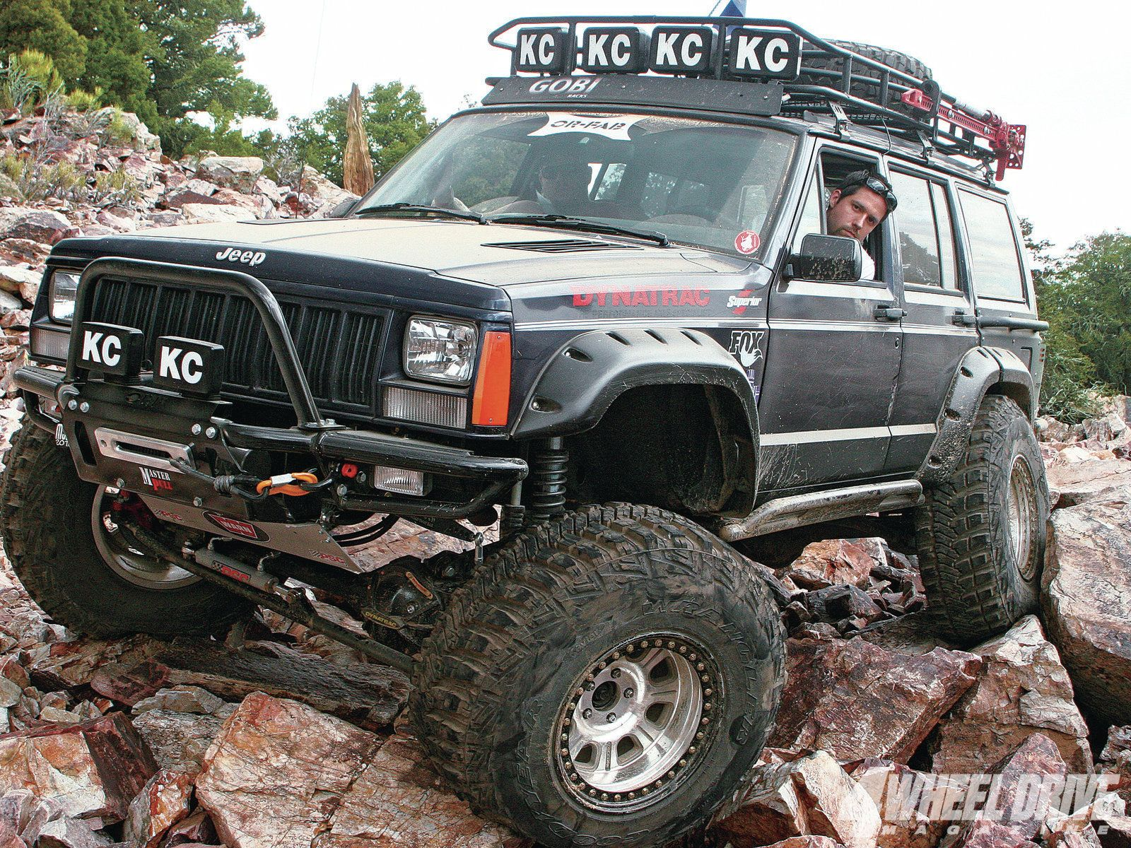 1996 jeep cherokee xj this jeep xj was upgraded with inexpensive jk parts