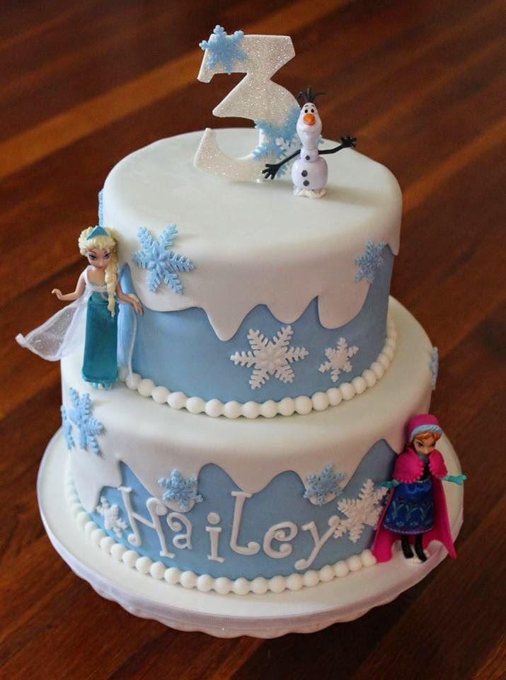Cakes by Becky Frozen Birthday Cake Frozen Pinterest Birthday