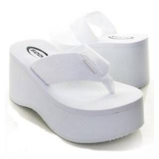 ac84f018b7842 Soda Womens Foam Platform Thong Flip Flop Beach Sandals