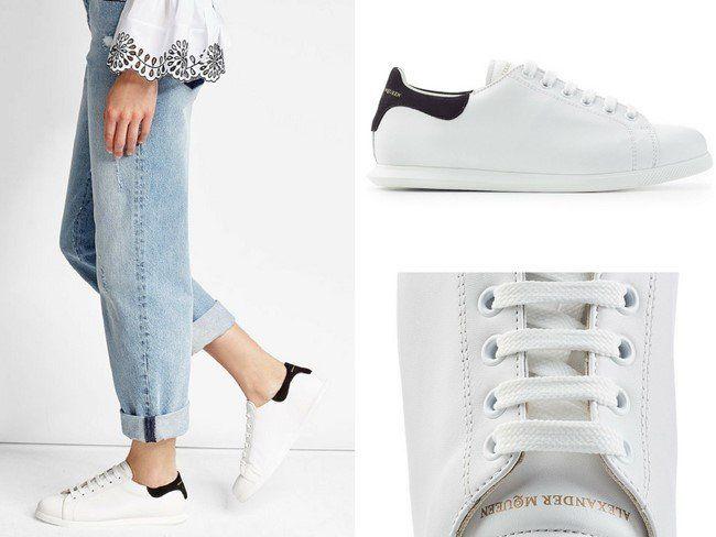 bdd499e9107c 25 Gorgeous White Designer Sneakers for Women in 2018 White Sneakers