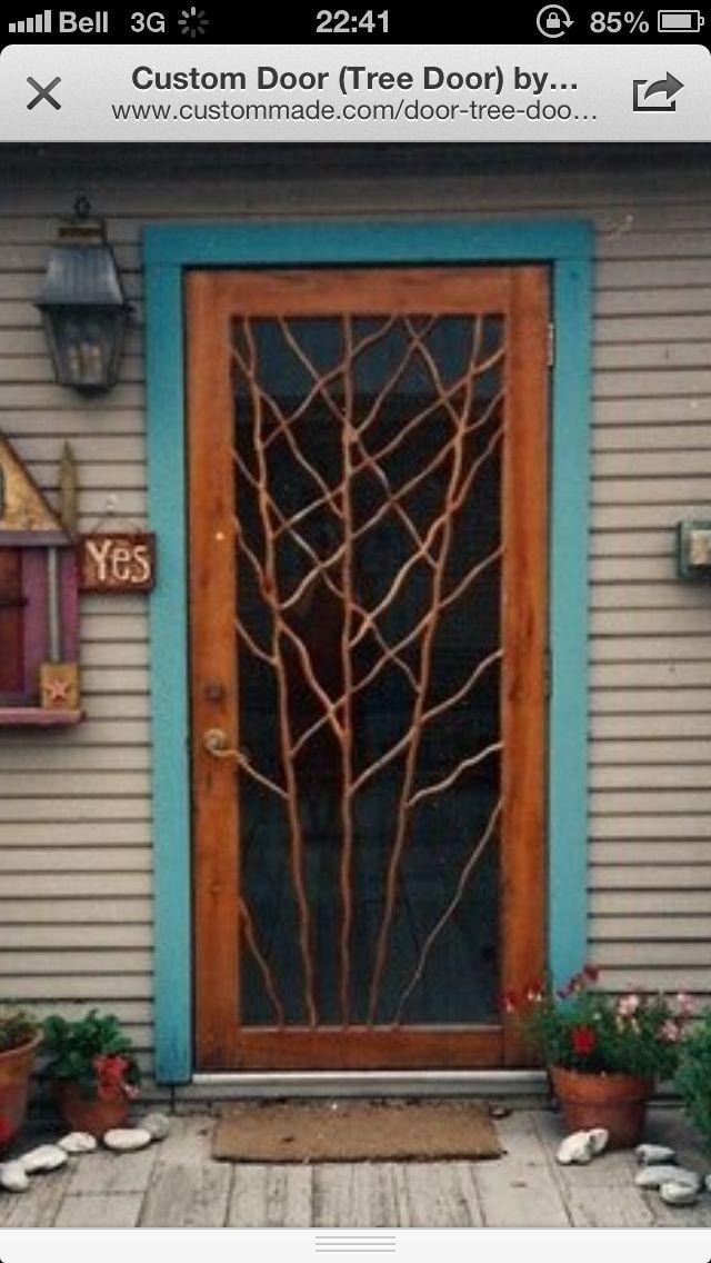 Wooden Screen Door Wooden Screen Door Custom Screen Doors