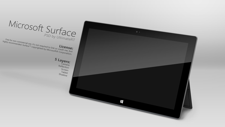 Microsoft Surface Psd Microsoft Surface Microsoft Web Phone