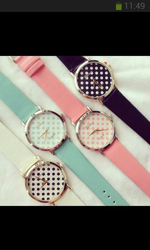 Can't decide which of these watches is the cutest :)