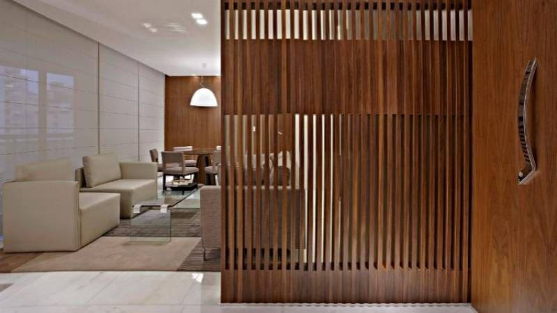 Separaciones de ambientes en madera buscar con google - Puertas correderas para separar ambientes ...