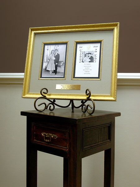 Then Now Anniversary Frame Gift Ideas In 2018 Pinterest