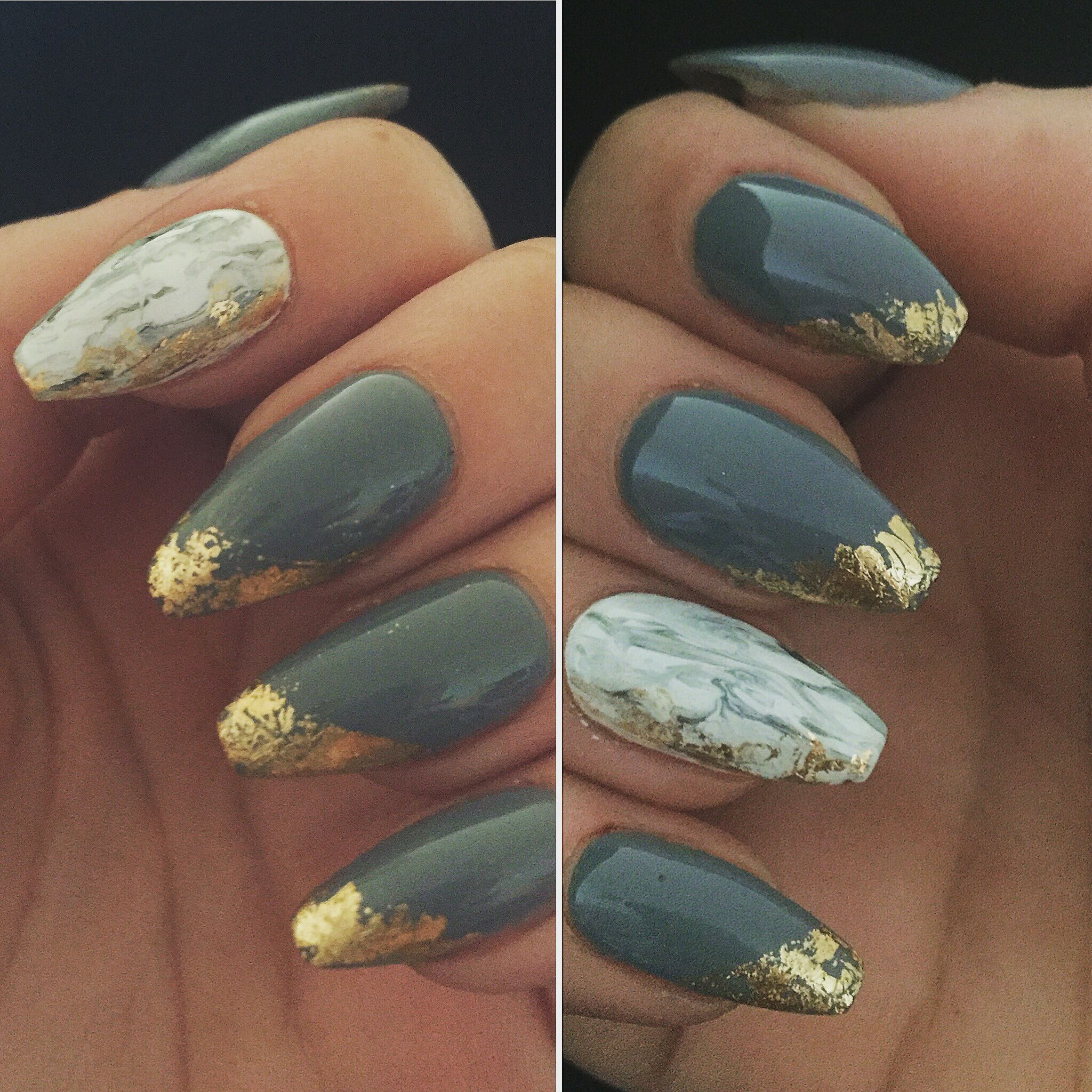 My lovely nails. Created by me painted by AnnabelJaneNails in ...