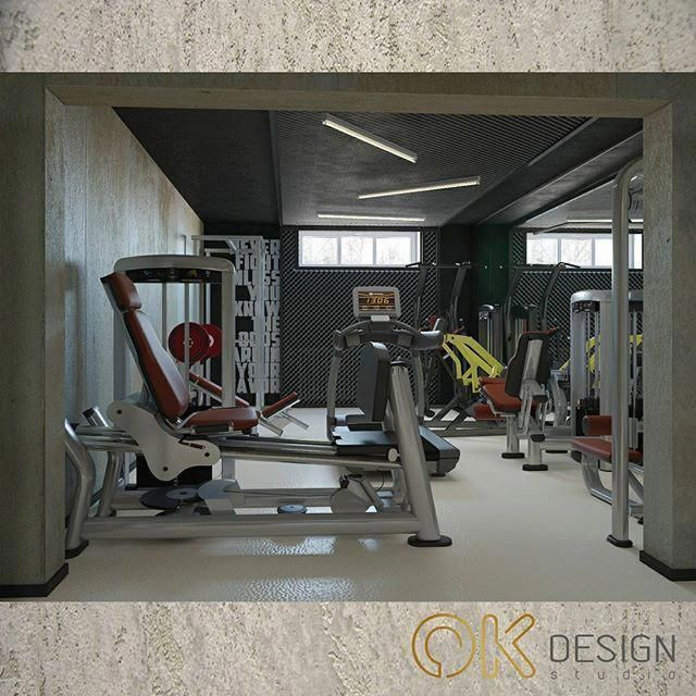 Home Gym Design Ideas Basement: Home Gym Ideas Basement #homegymideasluxury