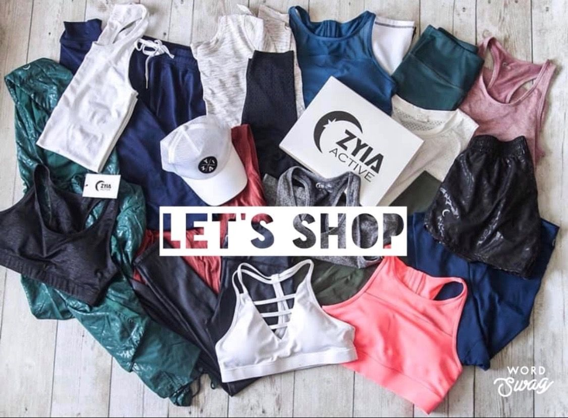 Pin by Holley Hall on ZYIA promos Workout clothes brands