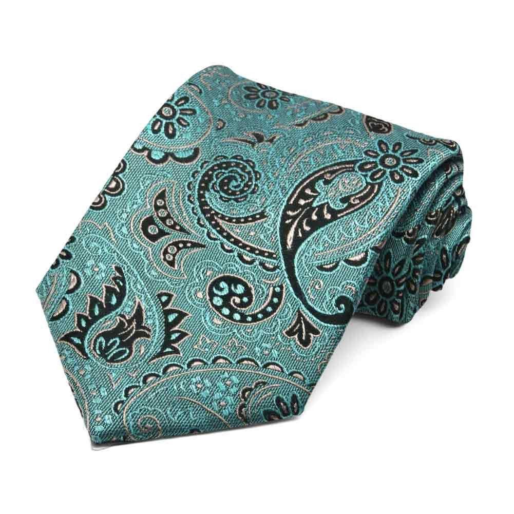 Publicist Paisley Linen/Silk Necktie $17.95 Each #wedding