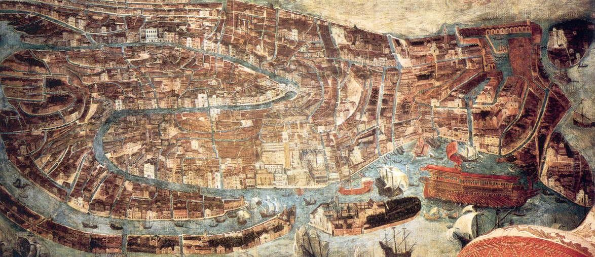 Overview The European Renaissance Early S Early S By - Map of venice 1500