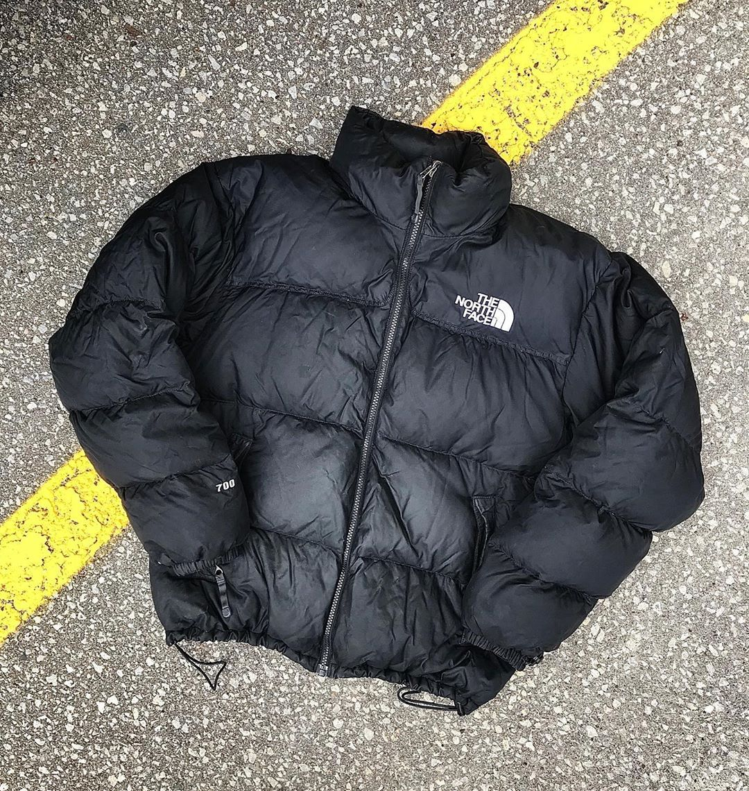 Toronto Vintage On Instagram 00s The North Face Nuptse In Sz M In All Black Classic Silhouette And T North Face Nuptse Winter Jackets All Black [ 1140 x 1080 Pixel ]