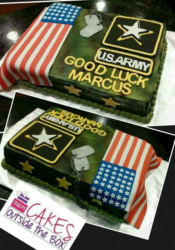 Army Cake Deployment Party Army Party Welcome Home Parties
