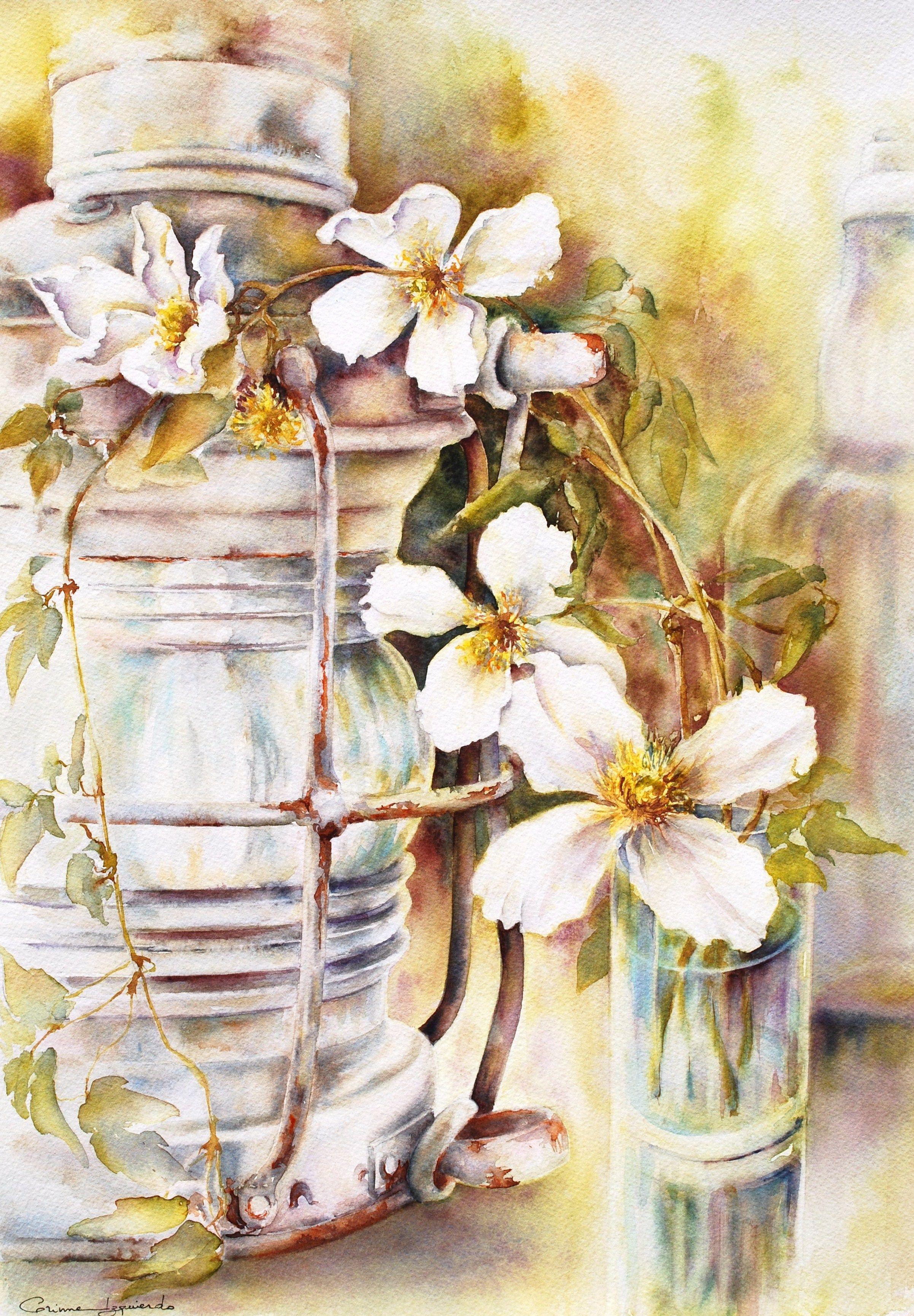 Watercolor By Corinne Izquierdo France Www Corinne Izquierdo Com