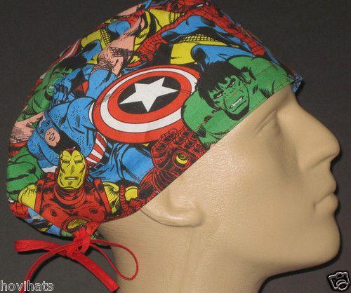Marvel Avengers Surgical cap Scrub hat