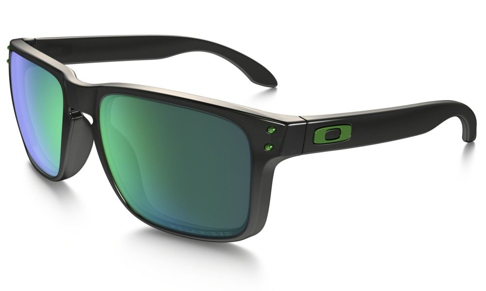 a1a5d2c34e6e Shop Oakley Holbrook™ Polarized Ink Collection in BLACK INK / JADE IRIDIUM  POLARIZED at the official Oakley online store.