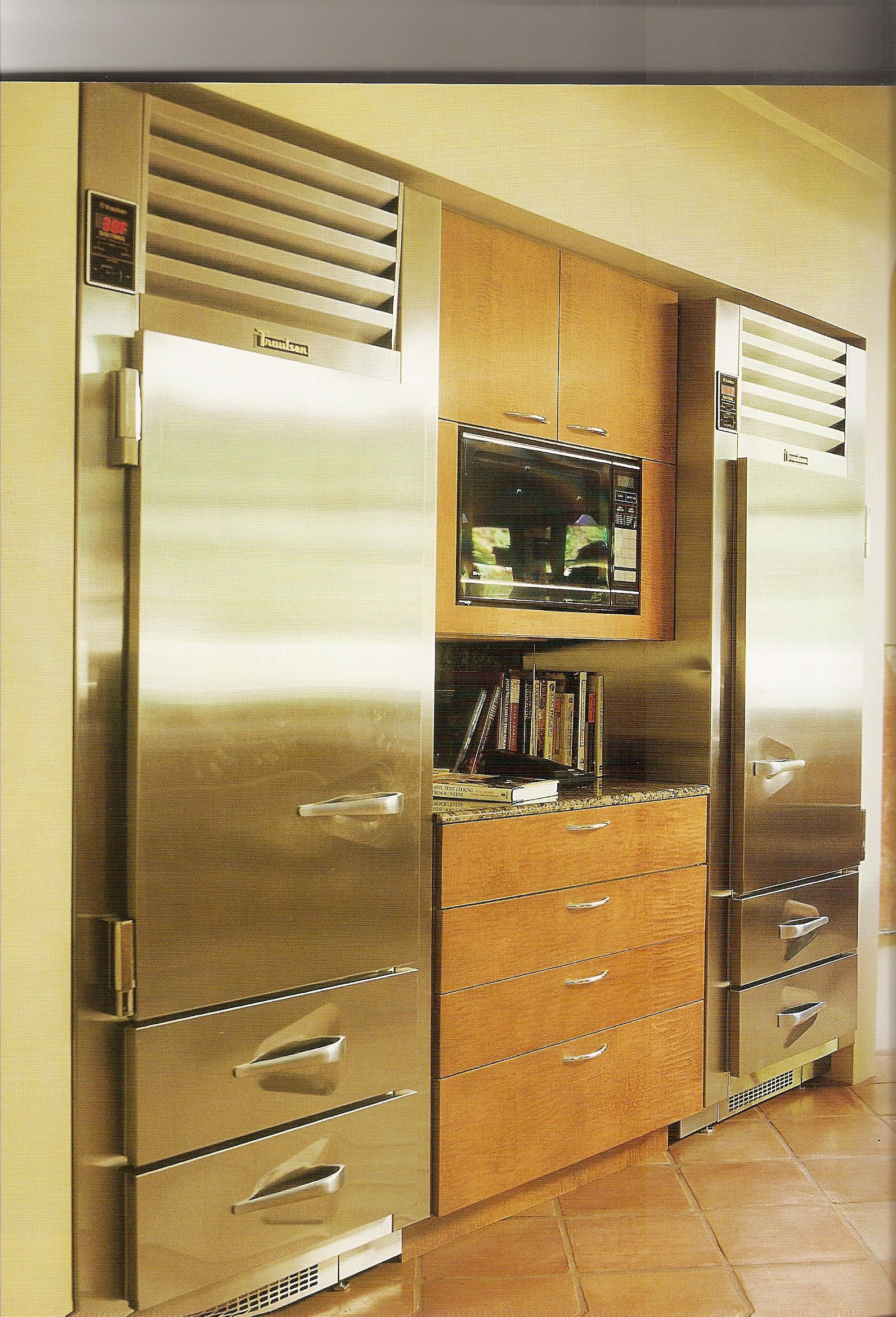Separate Refrigerator And Freezer In
