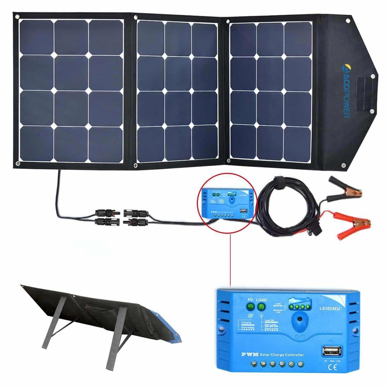 Acopower 12v 1050 Watt Foldable Solar Panel Kit Solarpanels Solarenergy Solarpower Solargenerator Solarpan In 2020 Solar Generator Portable Solar Panels Solar Heating