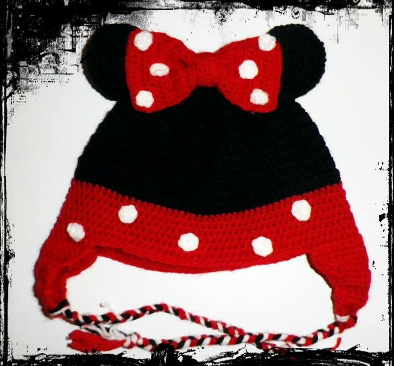 tricoter un bonnet minnie