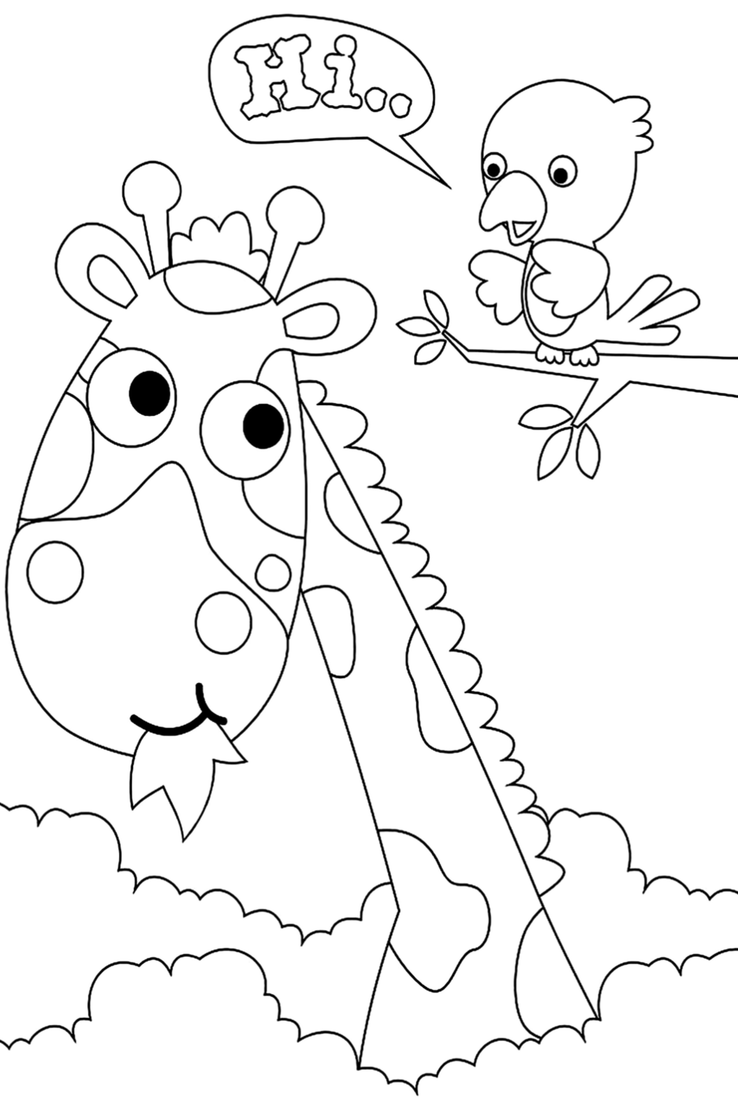 100 Animal Coloring Pages For Kids Desenhos