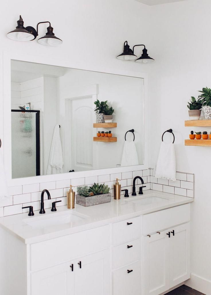 Bohemian/Modern Master Bathroom