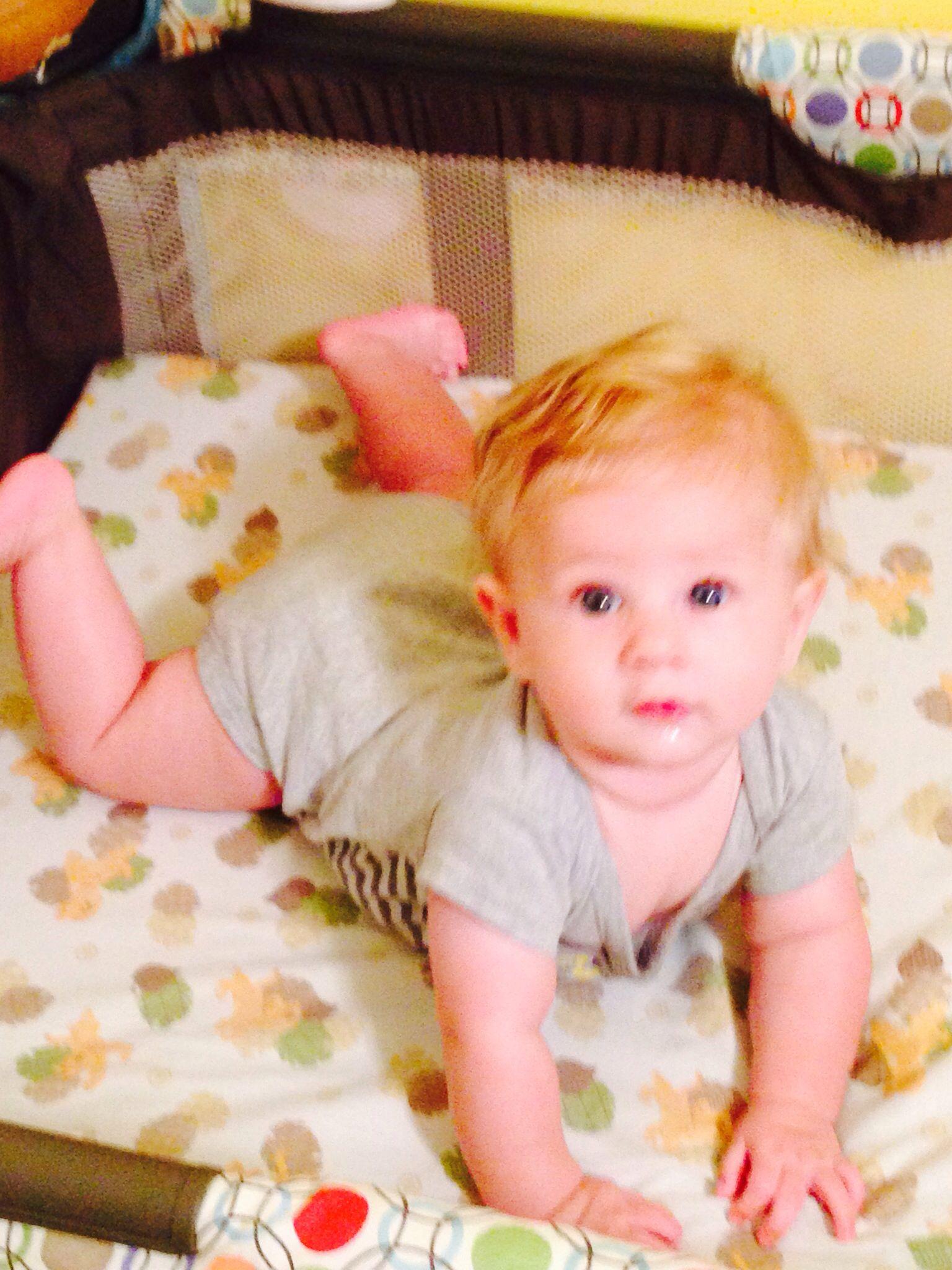 Baby Dennis III. 5 months old.
