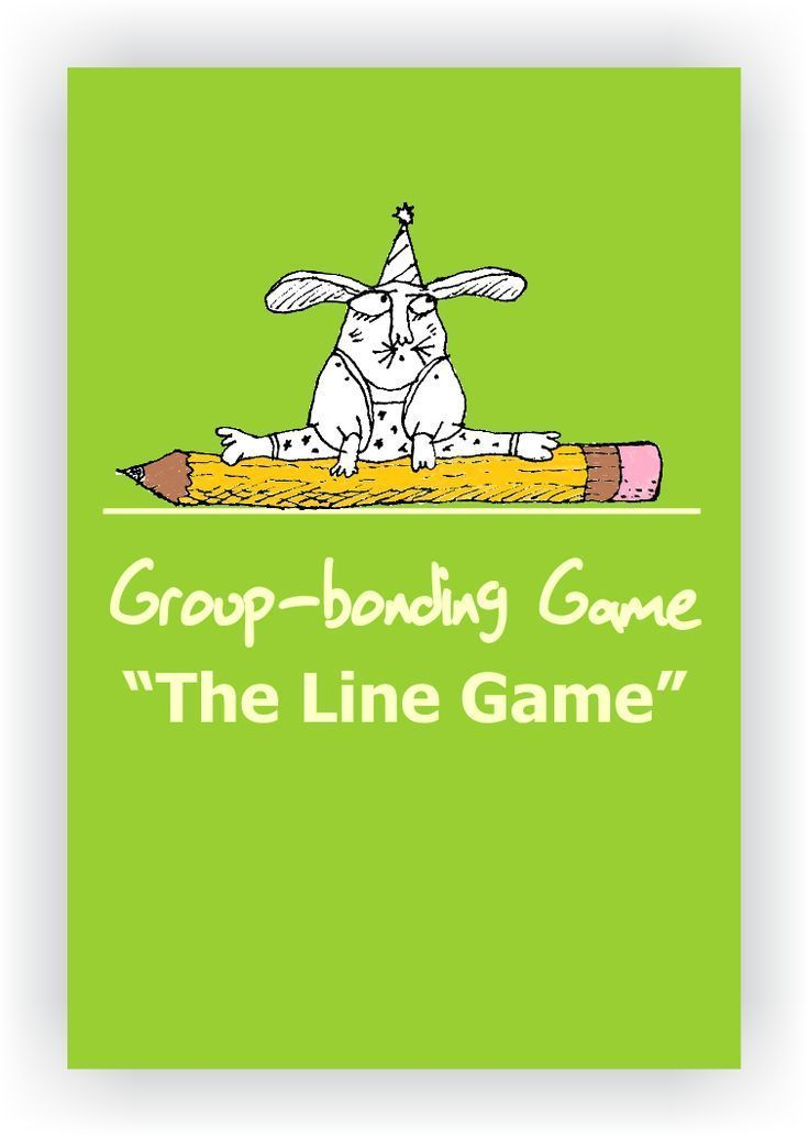 FREE DRAMA GAME~ The Line Game~ This is a great drama icebreaker. Come up with a list of ways for students to line up. Call them out one after another, but tell students that they cannot speak to one another. This is a silent game! When the line is finish