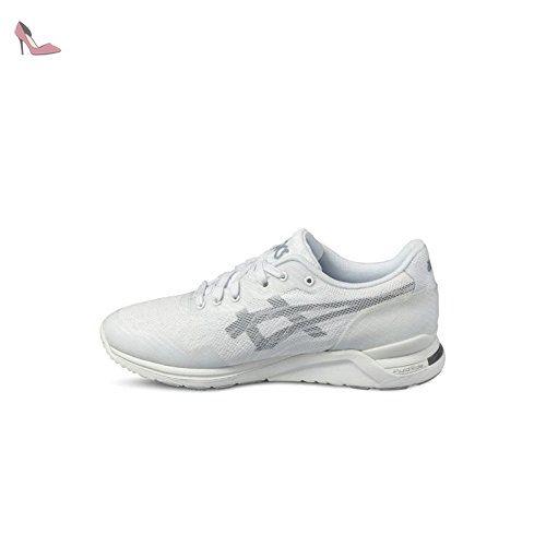 chaussure asics hommes blanche