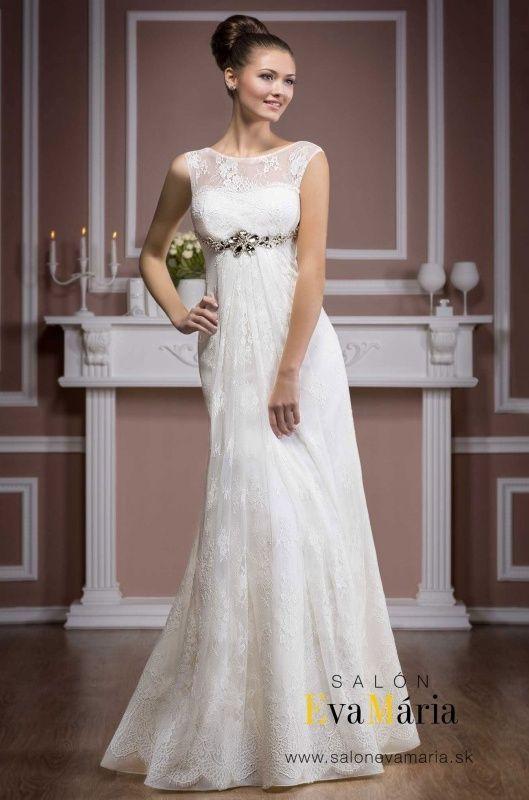 1d72b2f47e24 Svadobné šaty - empírový strih