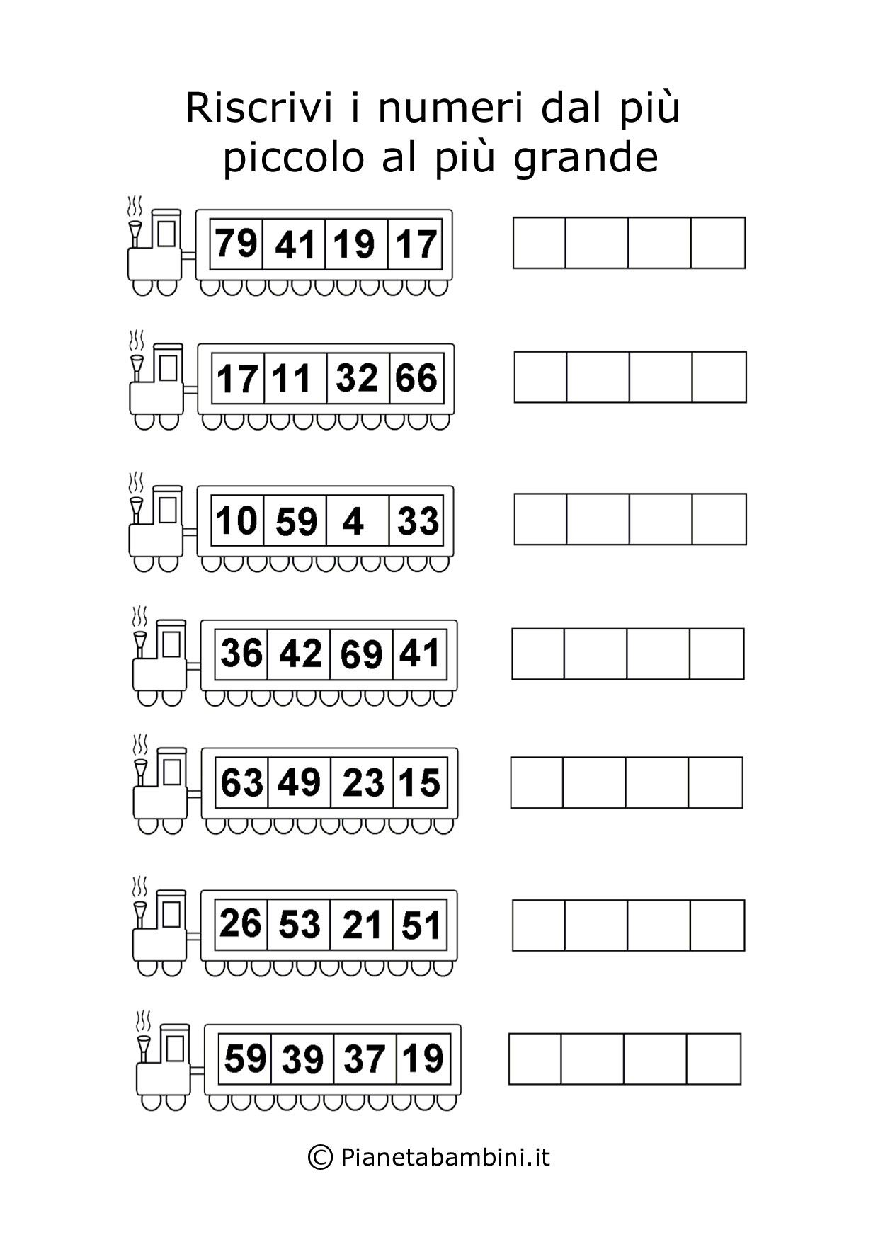 Giochi Di Matematica Per Bambini Di 6 7 Anni Da Stampare Schede