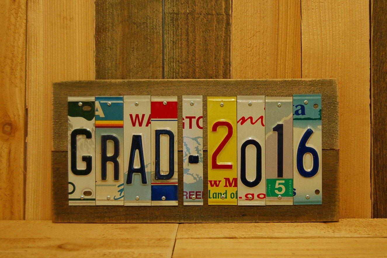 grad 2016 graduate graduation class high school college license