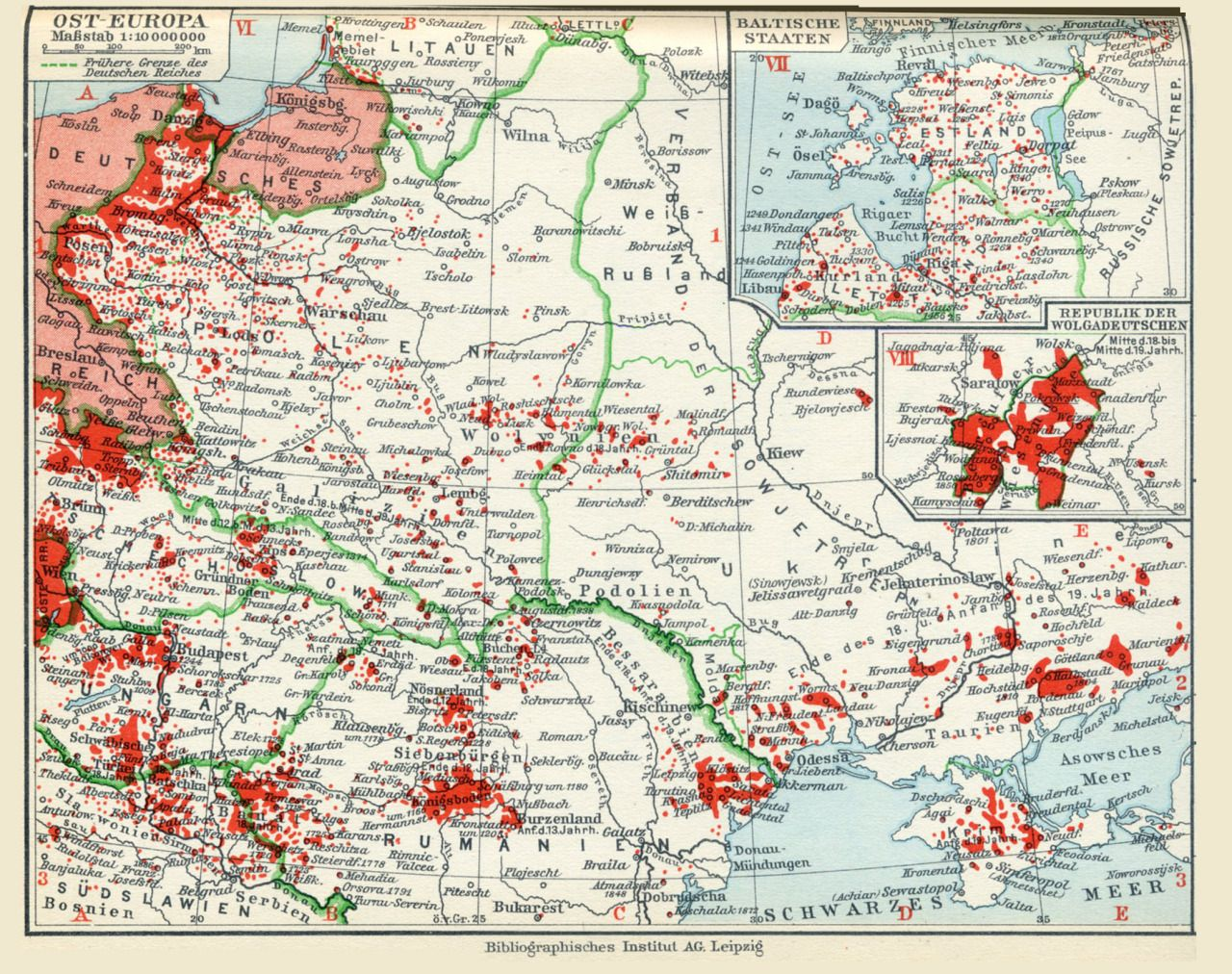 map of eastern europe 1930 mapsontheweb | Map, Europe map, Historical maps